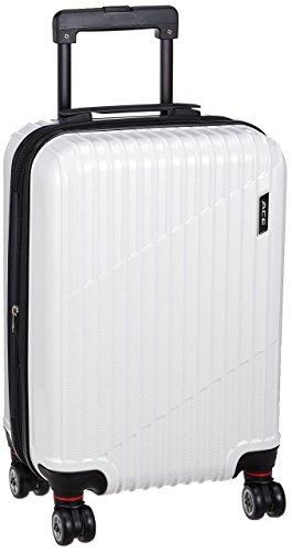 [エース] スーツケース クレスタ 機内持ち込み可 エキスパンド機能付 39L(拡張時) 48 cm 3.2kg ホワイトカーボン