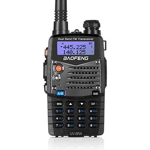 Baofeng UV5RA Ham Two Way Radio 136-174/400-480 MHz Dual-Band Transceiver (Black). Buy it now for 28.75