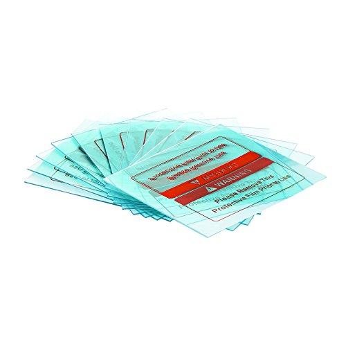 Stamos Welding Group Front Cover Lens 10 pcs for Metalator, BlackOne, Carbonic, Pokerface, Legend Vorsatzscheiben außen Schweißhelme Polycarbonat Schweißen Zubehör