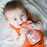 Nuby Tritan Wide Neck Non-Drip Bottles with Anti-Colic Air System: 9oz./ 270 Ml, 3 Pack, 0M+, Multi