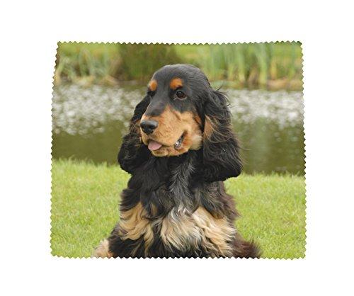 Cocker Spaniel Hond Zachte Microvezel Bril Lens Scherm Schoonmaken Doek Ontwerp No7