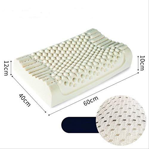petit un compact Un oreiller orthopédique Xuelan en latex naturel pur pour le soin du cou des vertèbres…