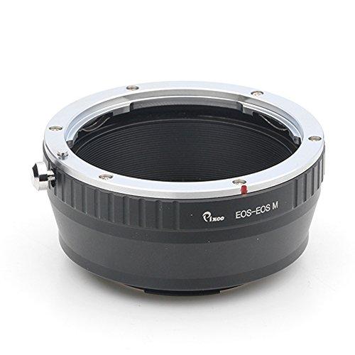 Pixco Canon EF - Adaptador de montura para objetivo Canon EOS M para todas las cámaras Canon EOS M Boca M50 M6 M5 M10 M3 M2(EOS -EOS·M)