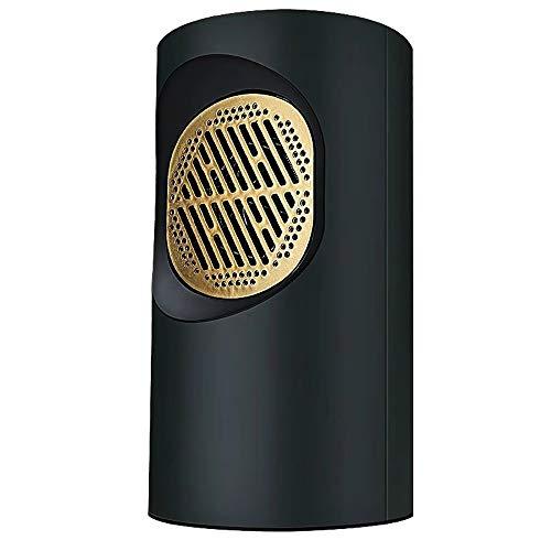 Jiamuxiangsi mini-verwarming voor snelle verwarming 220 V draagbare verwarming voor op bureau keuken slaapkamer en woonkamer binnen (wit zwart) ventilatorkachel