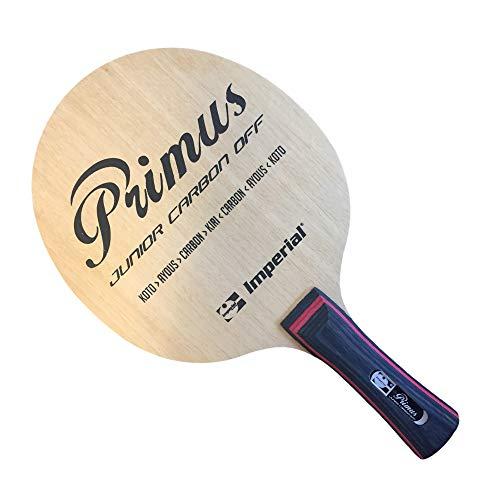 Imperial Primus Junior Carbon Off (cóncavo) - Ping pong de madera para competición / TT especial – Saca tenis de mesa