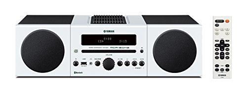 Yamaha MCR-B043WH Desktop Audio System, White