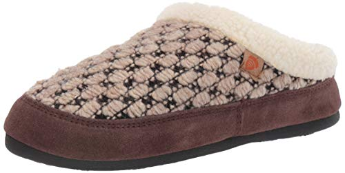 Acorn Women's Jam Mule Slipper, Pebble, X-Large (9.5-10.5)