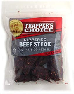 Trapper's Choice Kippered Beef Steak - 8 Ounce (Old Fashioned) (Pack of 3)