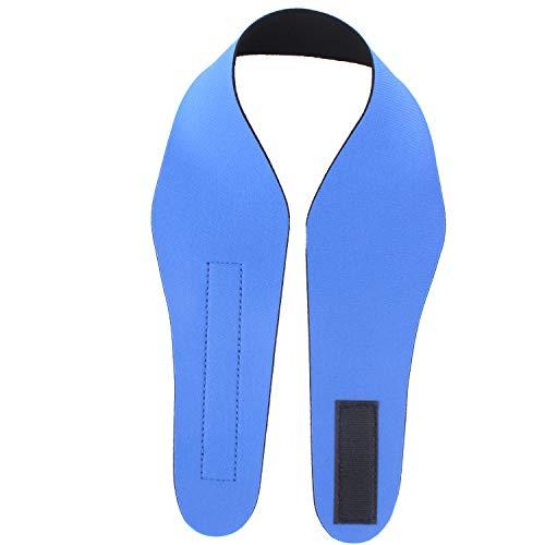 ANSUG Schwimmen Stirnband verstellbares Ohr Band Ohrenschützer für Erwachsene zum Schwimmen Baden Neopren Kopfband - halten Sie Ihre Ohren trocken (XL, blau)