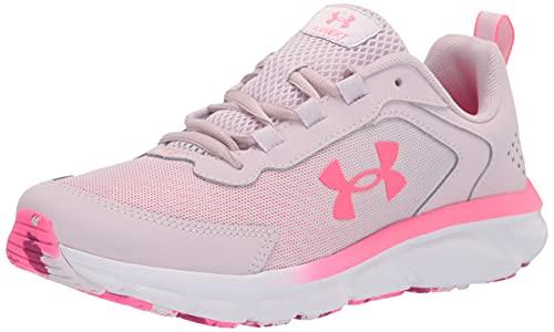 Under Armour girls Grade School Assert 9 Running Shoe, Cool Pink (600 Cerise, 3.5 Big Kid US