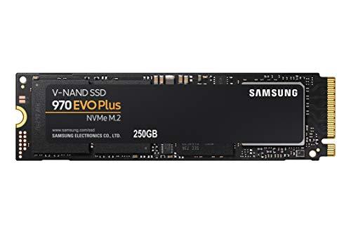 Samsung 970 EVO Plus Series MZ-V7S250B/AM Interne SSD-Festplatte (250 GB, PCIe NVMe, m.2)