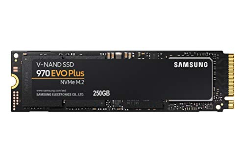 Samsung 970 EVO Plus SSD 250GB - M.2 NVMe Interface Internal Solid State Drive with V-NAND Technology (MZ-V7S250B/AM)