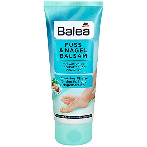 Balea Fuss Balsam mit Sheabutter & Vitaminen, 1er Pack (1 x 100 ml)