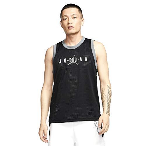 Nike Herren M J Jm SPRT DNA Tank T-Shirt, Negro/Smoke Grey/Blanco, M