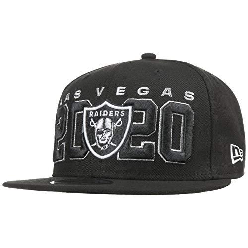 New Era - NFL Las Vegas Raiders 2020 Draft Official 9Fifty Snapback Cap - Schwarz : Schwarz One Size Farbe Schwarz, Größe One Size