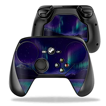 MightySkins Skin Compatible with Valve Steam Controller case wrap Cover Sticker Skins Aurora Borealis
