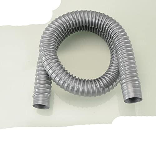 Tubo de drenaje de lavabo universal, 0,3-2 M, diámetro interior 32 mm, extensión, espesor, manguera de repuesto flexible, pajitas, piezas duraderas-100 cm