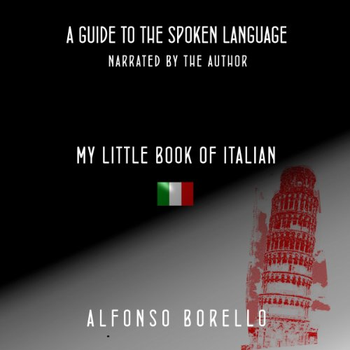 My Little Book of Italian audiobook cover art
