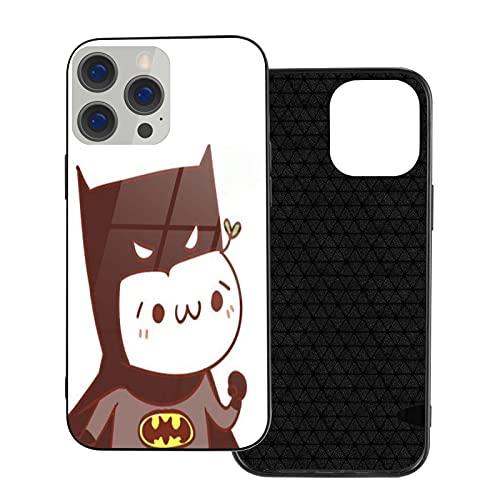 Compatible con iPhone 12 Funda Funny Baby Bat-Man TPU+Funda de vidrio para...