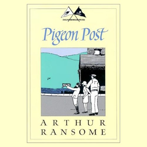 Pigeon Post audiobook cover art