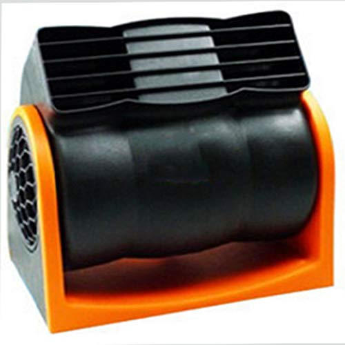 HEZIYU Ventilador de Aire Acondicionado sin Aire del Coche de 12 voltios Viento Grande silencioso Ventilador de Velocidad Ajustable para automóvil