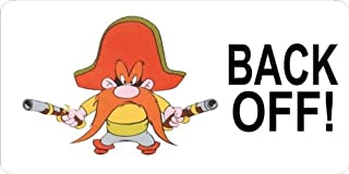 Yosemite Sam Novelty License Plate
