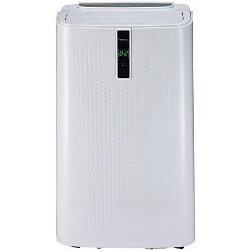 Rosewill Portable Air Conditioner 12000 BTU AC Fan Dehumidifier & Heater, 4-in-1 Cool/Fan/Dry/Heat w/Remote Control, Quiet Energy Efficient Self Evaporation Unit for Single Room Use, RHPA-18003