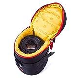 Huntvp Objektivtasche Neopren Kamera Objektiv Schutztasche Objektivköcher Wasserdicht Gepolstert ObjektivbeutelDSLR