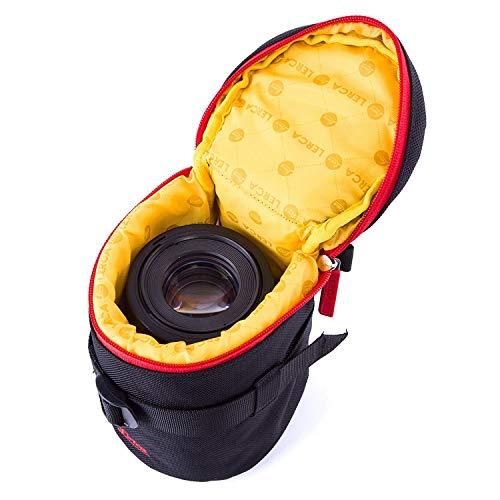 Neopren Köcher Gr L schwarz Neopren Objektiv Tasche für Kamera Objektive