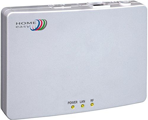 Home Easy IP-BOX HE840IP, Gateway zur Steuerung der Home Easy Serie, weiß, HE840IP