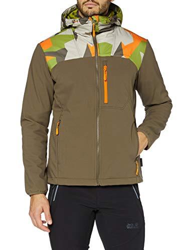 Jack Wolfskin 365 Hideaway Stormlock Jacket Herren Jacke, Granit, XXL