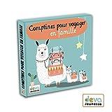 Comptines pour voyager en famille - CD enfants avec livret