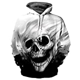 Hoodie Sudadera con Capucha Unisex Películas de Anime Cráneo Cosplay Sudaderas con Capucha de...
