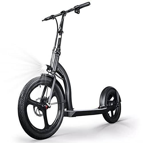 YX-ZD Scooters Eléctricos Adultos, Urban Commuter E-Scooter Patinete Eléctrico Plegable De Neumáticos...