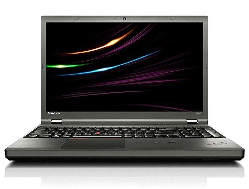 Lenovo ThinkPad W540 Business Notebook, Intel i7 2 x 2.9 GHz Prozessor, 16 GB Arbeitsspeicher, 480 GB SSD, 15.6 Zoll Display, Full HD, 1920x1080, 2GB Nvidia, Cam, Windows 10 Pro, V00 (Generalüberholt)