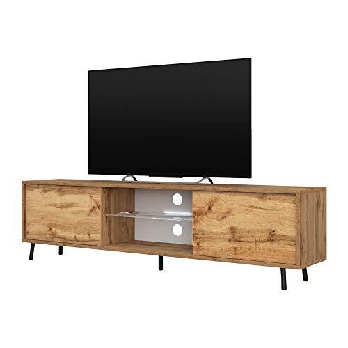 Selsey TV-Lowboard, Wotan Eiche, 140 x 40,5x31,3