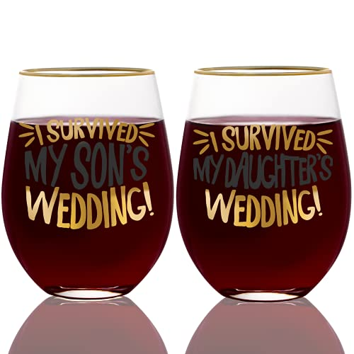 Onebttl Funny Wedding gifts for Mother of the Groom/Bride, Father of...