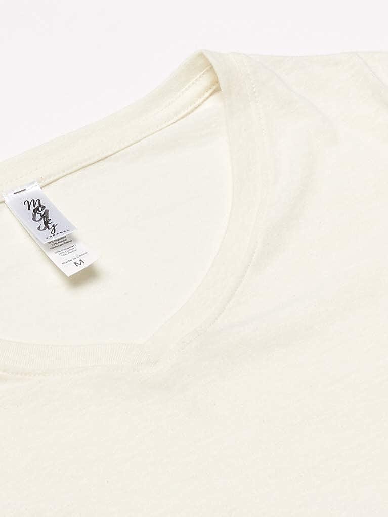 2 Pack Marky G Apparel Womens Triblend Short-Sleeve V-Neck T-Shirt