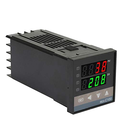 Controlador de temperatura, salida 0-400 ℃ Termostato digital de uso múltiple Relé de termostato de temperatura para medición de temperatura Control de temperatura constante Interruptor (AC220V)