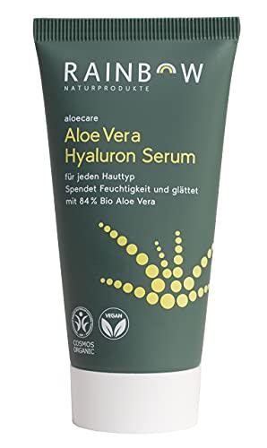 Aloe Vera Hyaluron Serum 50 ml Aloecare Anti Aging Feuchtigkeitsspendend Anti Falten Naturkosmetik Bio Zertifiziert (1 x 50ml)
