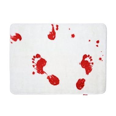 Spinning Hat Blood Bath Bath Mat