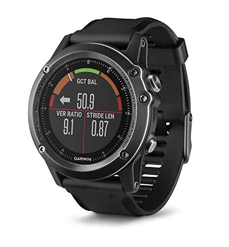 """Garmin fÄ""""nix 3 HR Saphir GPS-Multisportuhr, Herzfrequenzmessung am Handgelenk, zahlreiche Sport- und Navigationsfunktionen (Generalüberholt)"""