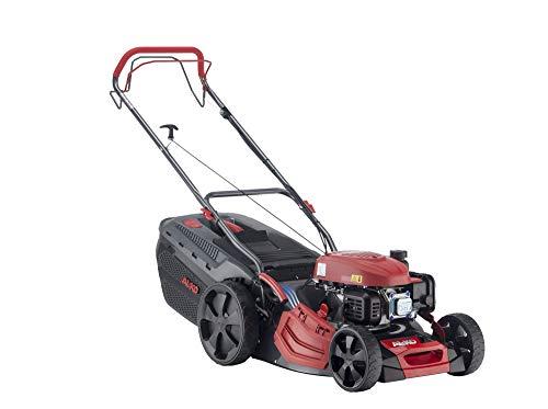 AL-KO Benzin-Rasenmäher Comfort 46.0 SP-A Plus, 46 cm Schnittbreite, 2.1 kW Motorleistung, robustes Stahlblechgehäuse, Hinterradantrieb, Mulchfunktion, Seitenauswurf
