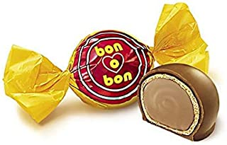 Arcor Bon O Bon Peanut Cream Wafer Filled Bonbons Box Kosher Dairy - (Pack of