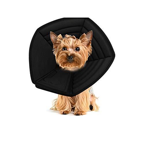 PETCUTE Conos De Mascotas Collarin Isabelino Collar de recuperación para Perros Ajustable para Cachorros Perros PequeñOs y Gatos RecuperacióN Collarines para Curar Protector Después de la Cirugía
