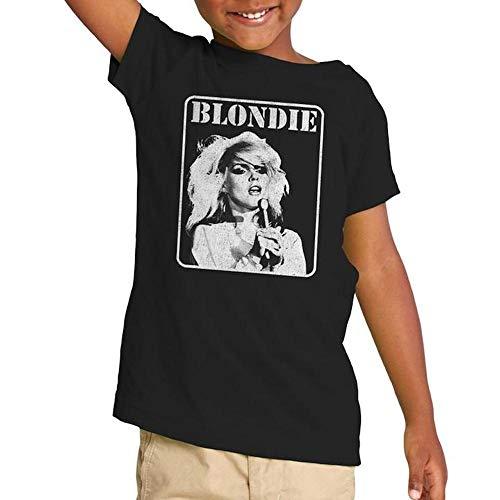 Kids Blondie Debbie Harry at Mic T-shirt, 2T to 4T