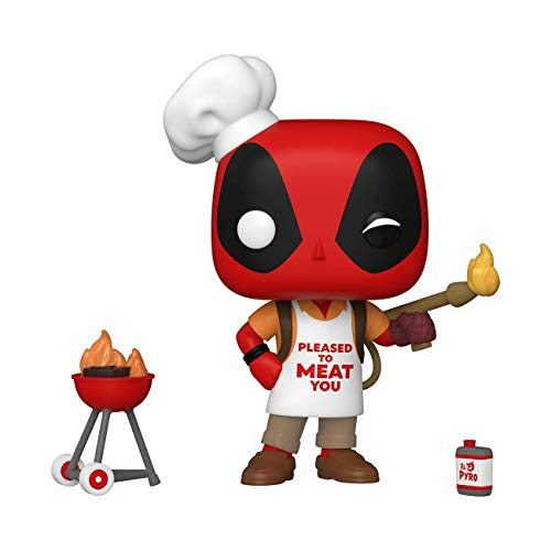 Funko POP Marvel: Deadpool 30th - Backyard Griller Deadpool, 54652