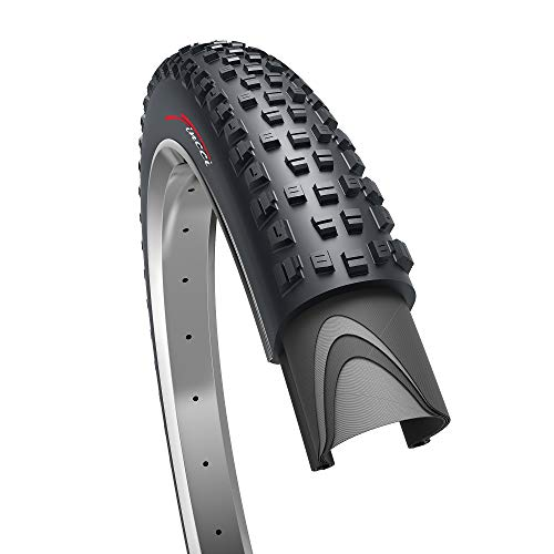 Fincci 27.5 x 2.35 Inch 60-584 Foldable Tyre for Road Mountain MTB Mud Dirt Offroad Bike Bicycle