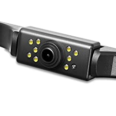 Night Vision LED: Equipped with 9 LED lights, car backup camera ensures a clear image even at night and safe backing-up in dark place. Note: the image is white and black in completely black environment. IP67 Waterproof: With IP67K waterproof design, ...
