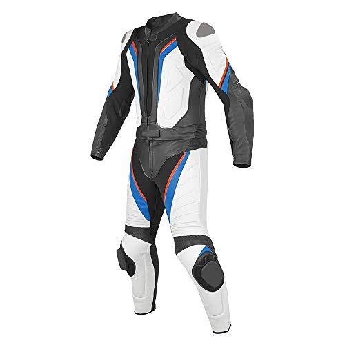 Corso Fashion Herren Motorrad Lederkombi - Motorrad Rennsport Schutzkleidung Bikerausrüstung - Maßanfertigung Style169